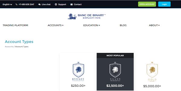 BancDeBinary COM